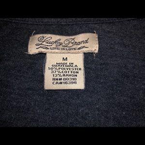Lucky Brand Tops - Lucky Brand 3/4 sleeve T NWOT